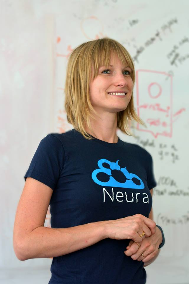 Triinu Magi, Estonian immigrant to Israel, co-founder and CTO of Artificial Intelligence based startup, Neura.
