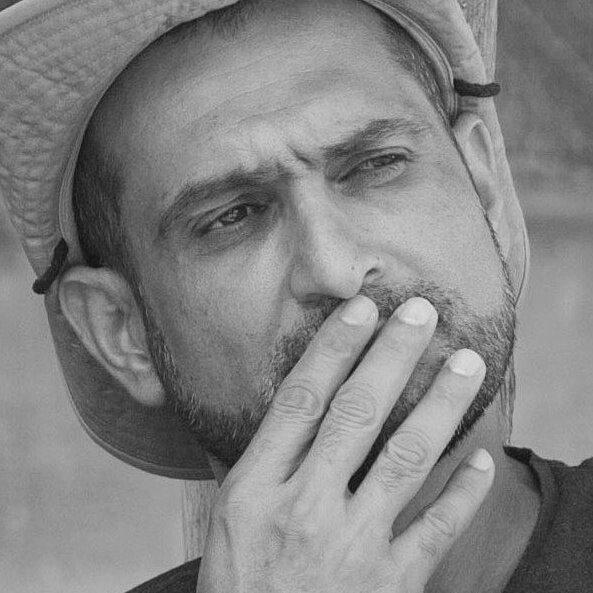 Israeli film director Yuval Delshad who won Ophir Award or Israeli Oscar