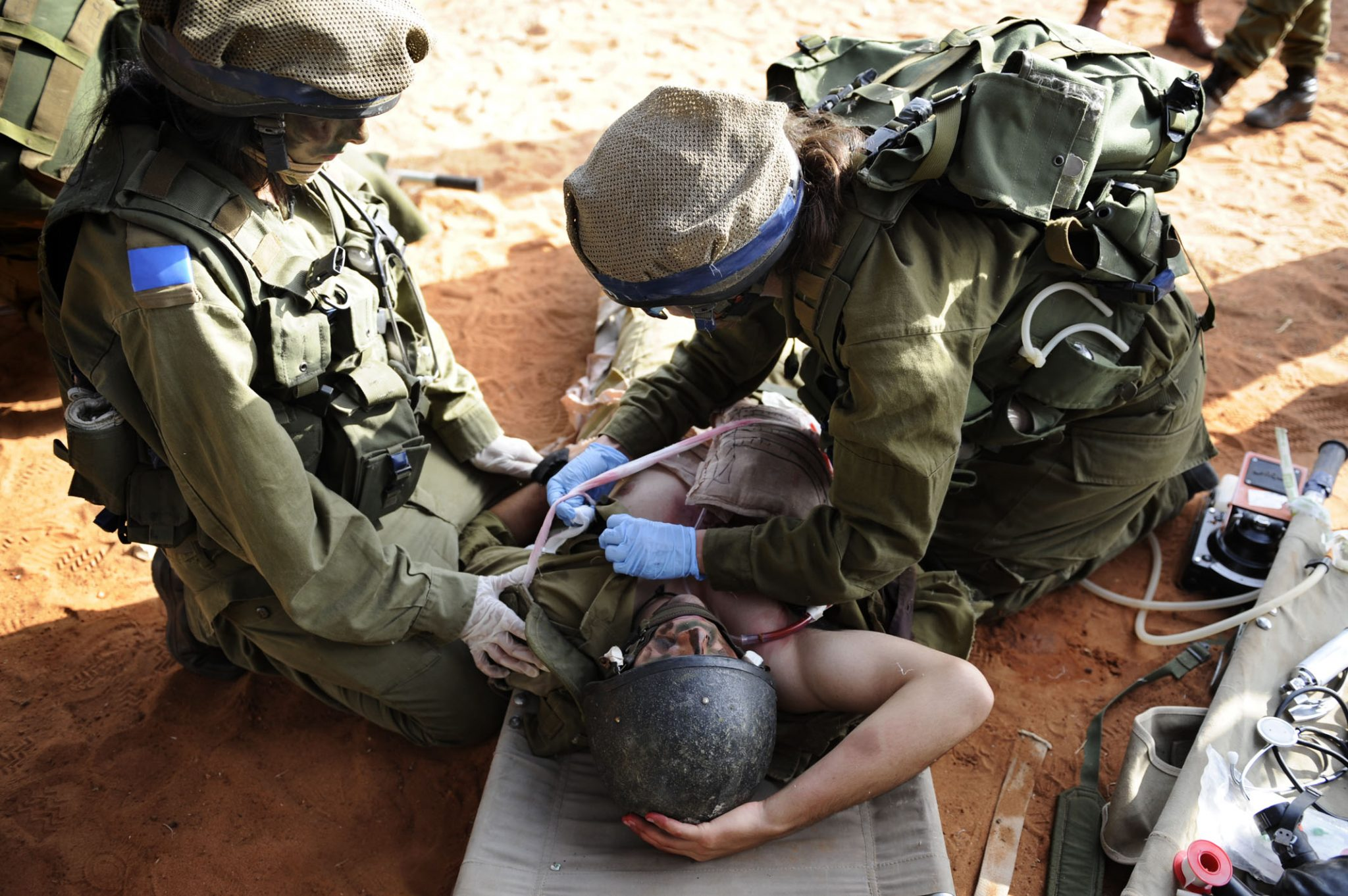 IDF smart watch for medics documents the incident and soldiers' vitals to free the medic to work