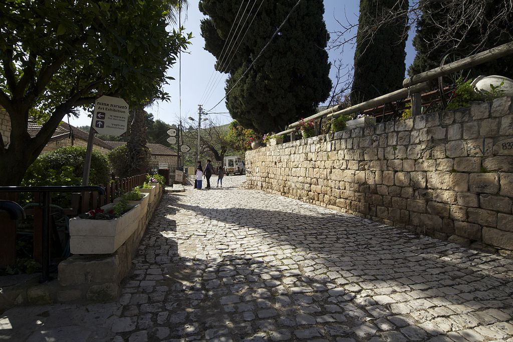 Rosh Pina old city is tranquil and beautiful