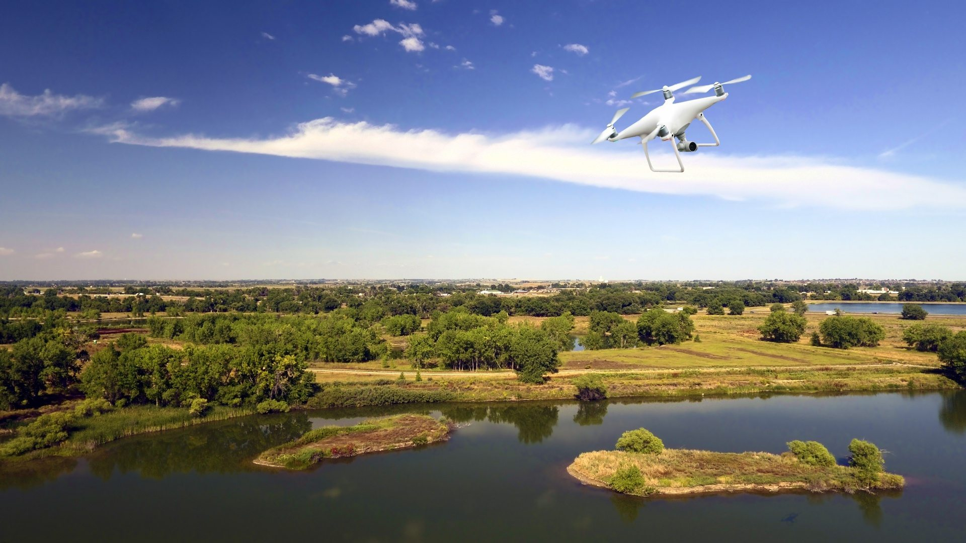 Flytrex is using drones for different purposes, such as delivering packages