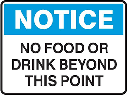 No Food Byond This Point