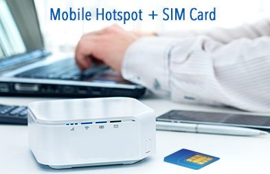 have both a mobile hotspot and a sim card for Israel