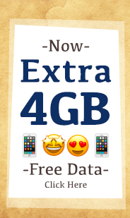 Get an extra 4GB on SIM Card for Israel this Pesach. Your special SIM for israel